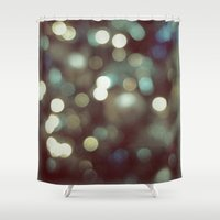 cosmos Shower Curtains featuring Cosmos by RichCaspian