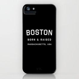 Boston - MA, USA (Arc) iPhone Case