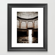 Inside Monument Framed Art Print