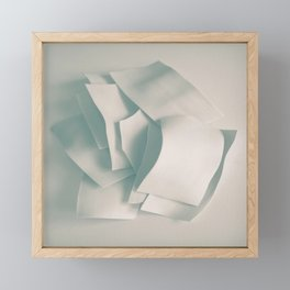 Abstract forms 33 Framed Mini Art Print