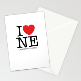 I Heart (Love) Northern Exposure Stationery Cards