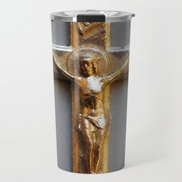 Crucifix Travel Mug