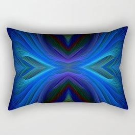 Eclectic Blue-1_2 Rectangular Pillow