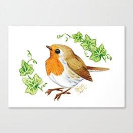 Robin & Ivy Canvas Print