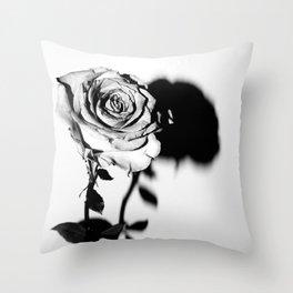 Single Bloom Still Throw Pillow