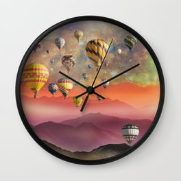 One Last Traveller To Go! Wall Clock