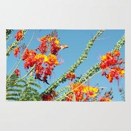 Ocotillo Blooms Rug