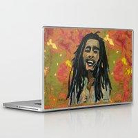 rasta Laptop & iPad Skins featuring Rasta  Man by gretzky