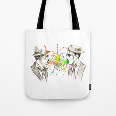 The Tramp v. Stone Face Tote Bag