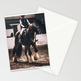 Dressage Shire Stationery Cards
