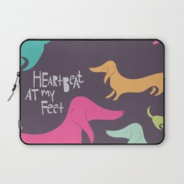 Dog – Heartbeat at my Feet Laptop Sleeve