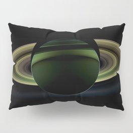 The Rings of Saturn Pillow Sham
