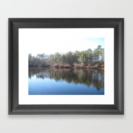 Waterways Framed Art Print