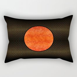 """""""Black Moon Sabana"""" Rectangular Pillow"""
