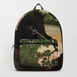 Henri Rousseau - Unpleasant Surprise - Digital Remastered Edition Backpack