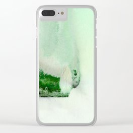 A Serene Life 3D - by Kathy Morton Stanion Clear iPhone Case