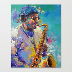 Soulful Charles Canvas Print