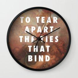Do Me a Favour, Angel Wall Clock