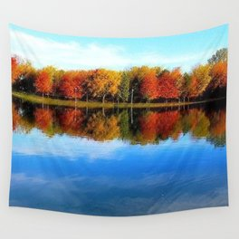 Lakeside, Autumn Wall Tapestry