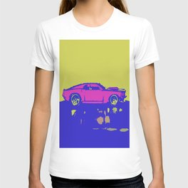 lazer mustang T-shirt