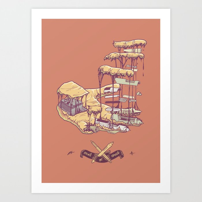 Tools of Trade Art Print