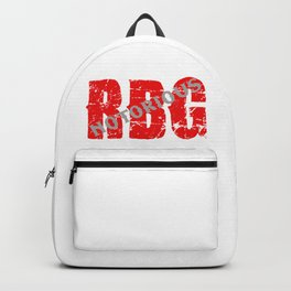 NOTORIOUS RBG - GRUNGE FONT Backpack