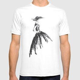Retro fashion sketch T-shirt