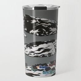 Kangaamiut Coast, Greenland Travel Mug