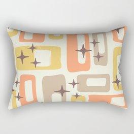Mid Century Modern Geometric Abstract 133 Rectangular Pillow