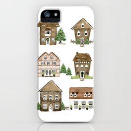 Gingerbread Lane iPhone Case