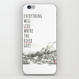 River of Living Water iPhone Skin