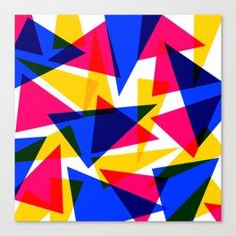 CMYK Shard Canvas Print