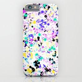 Abstract,splash pattern iPhone Case