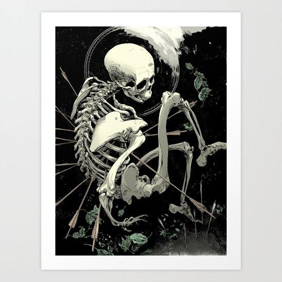 Caetera fumus Art Print