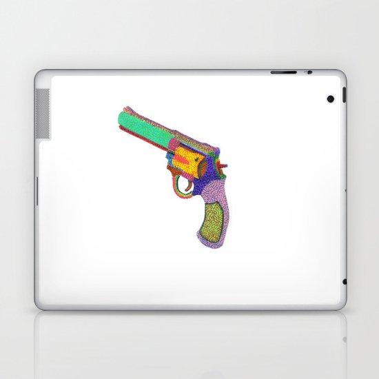 gun shoots color Laptop & iPad Skin