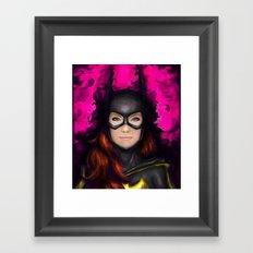 Bat of Stone Framed Art Print