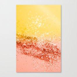 Tropical Summer Lady Glitter #2 #shiny #decor #art #society6 Canvas Print