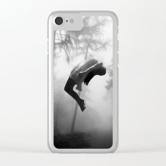 LEVITATION Clear iPhone Case