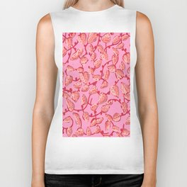 Strawberry nonsense Biker Tank