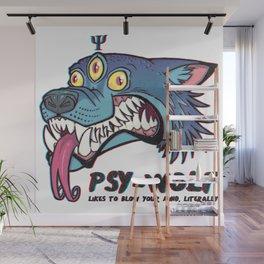 PsyWolf Wall Mural