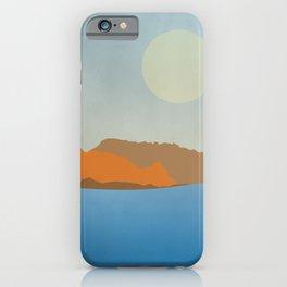 Summer seascape iPhone Case