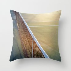 The Game #3 Throw Pillow