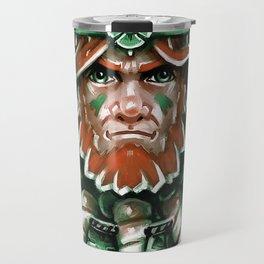 Wild Leprechan Travel Mug