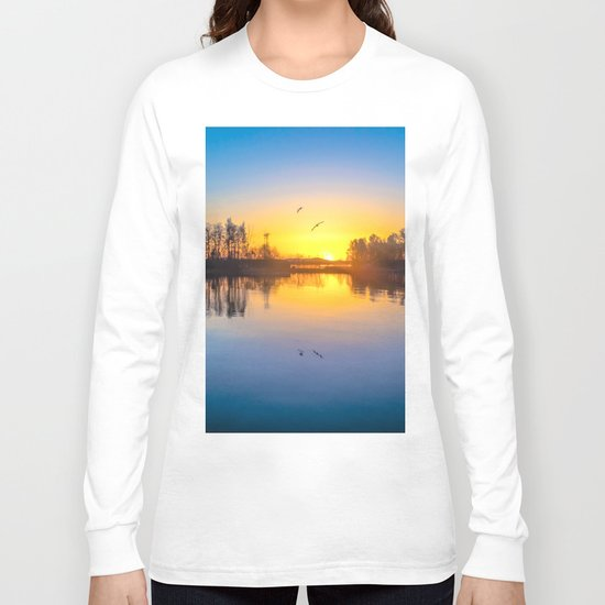 Soundtrack of silence Long Sleeve T-shirt
