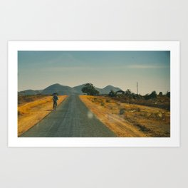 Myanmar Art Print