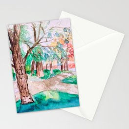 Parque de Retiro Stationery Cards