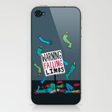 Falling Limbs iPhone & iPod Skin