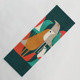 Flock of Birds Yoga Mat