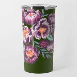 Jungle Flowers Travel Mug