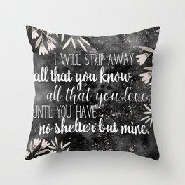 The Darkling Quote - Grisha - Nikoli Throw Pillow